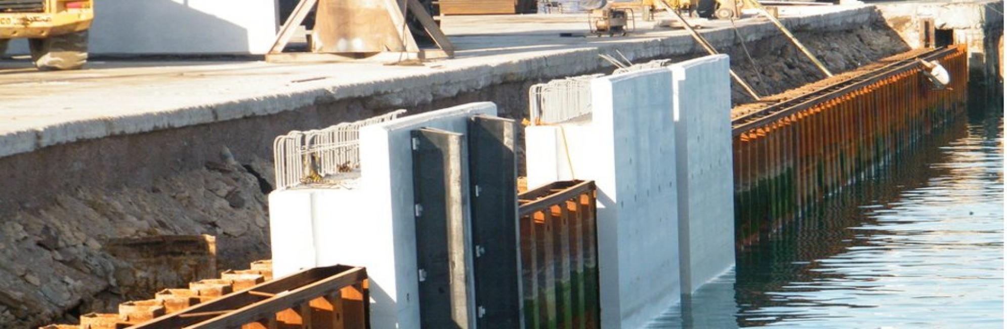 پروژه تعمیر و بازسازی اسکله قدیم بندر لنگه