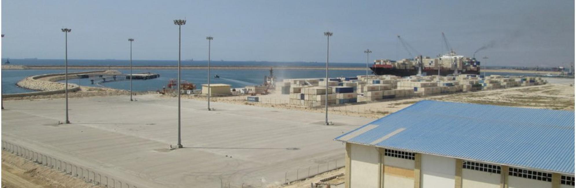 پروژه قطعه 57 بندر خدماتی پارس