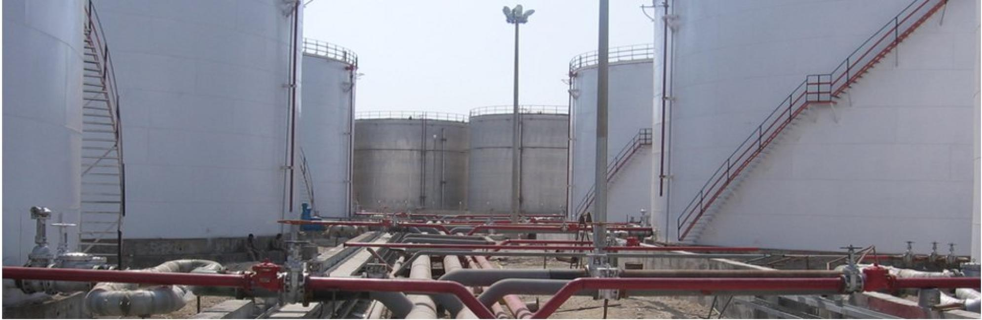 Re-Design and construction supervision of 50,000 Ton Tank Farm, Bandar Abbass- Hormozgan province